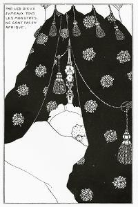 Portrait of Himself in Bed, from 'The Yellow Book' Vol. III, October 1894 by Aubrey Beardsley