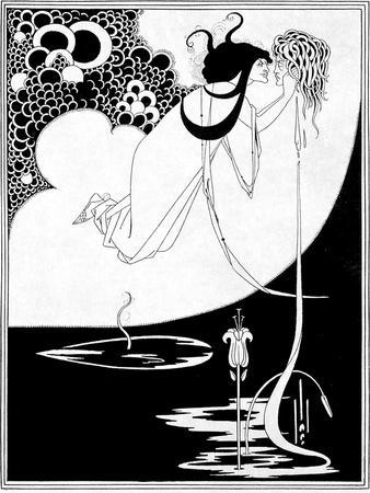 """The Climax, Illustration from """"Salome"""" by Oscar Wilde, 1893"""