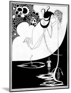 """The Climax, Illustration from """"Salome"""" by Oscar Wilde, 1893 by Aubrey Beardsley"""