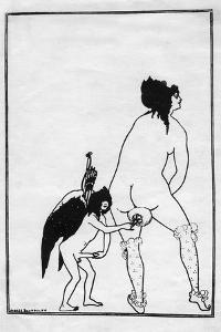 The Toilet of Lampito, 1896 by Aubrey Beardsley