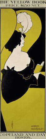 """The Yellow Book (...),"" Advertisement for Magazine by Aubrey Beardsley"