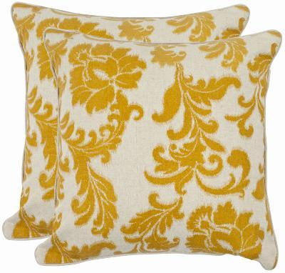 Aubrey Pillow Pair - Apricot--Home Accessories