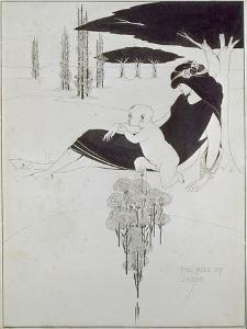 Der Judaskuss. 1893 by Aubrey Vincent Beardsley