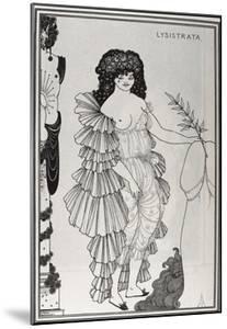 Lysistrata Shielding Her Coynte by Aubrey Vincent Beardsley
