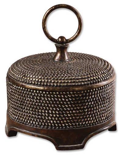 Aubriana Distressed Decorative Box--Home Accessories