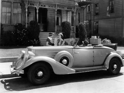 Auburn 8 Convertible Coupe, 1934--Photographic Print