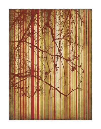 Auburn Stripe-Erin Clark-Art Print