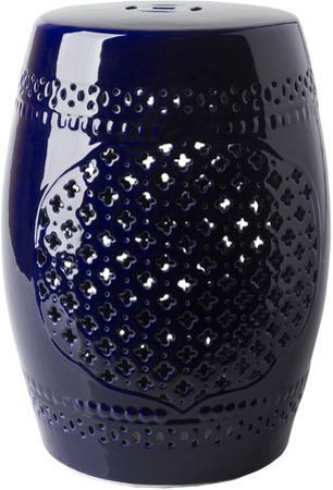 Auburndale Ceramic Stool - Black
