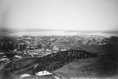 Auckland from Mt Eden, New Zealand, 1899--Giclee Print