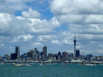 Auckland Skyline, New Zealand-Bruce Clarke-Photographic Print