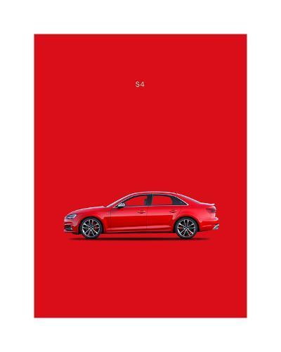 Audi S4 2015-Mark Rogan-Giclee Print