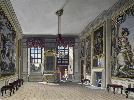 Audience Hall of Queen--Giclee Print