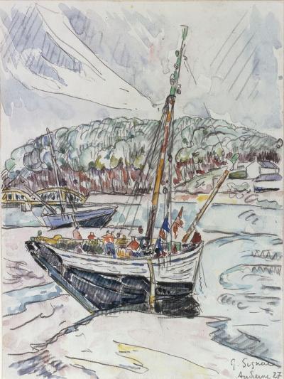 Audierne, 1927-Paul Signac-Giclee Print