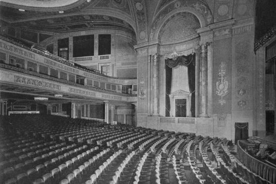 Auditorium of the Premier Theatre, Brooklyn, New York, 1925--Photographic Print