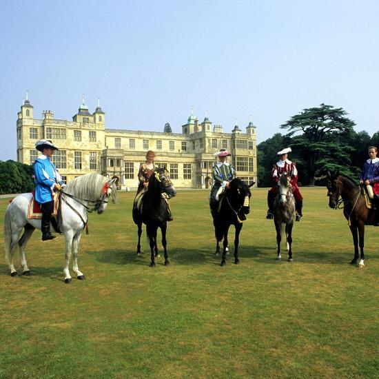 Audley End House Costume Horse Riders Re-Enactment--Giclee Print