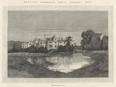 Audley End-Charles Auguste Loye-Giclee Print