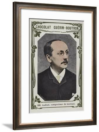 Audran, Compositeur De Musique--Framed Giclee Print