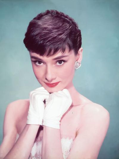 Audrey Hepburn, 1954--Photographic Print