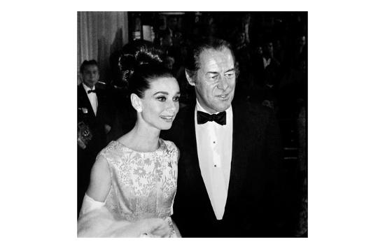 Audrey Hepburn and Rex Harrison-Frank Worth-Art Print