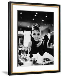 """Audrey Hepburn. """"Breakfast At Tiffany's"""" 1961, Directed by Blake Edwards"""