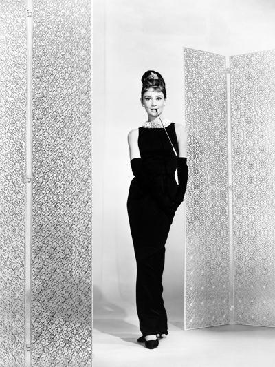 """Audrey Hepburn. """"Breakfast At Tiffany's"""" 1961, Directed by Blake Edwards--Photographic Print"""