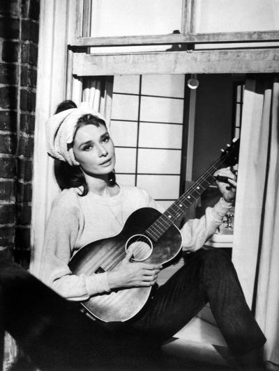 "Audrey Hepburn. ""Breakfast At Tiffany's"" 1961, Directed by Blake Edwards--Photographic Print"