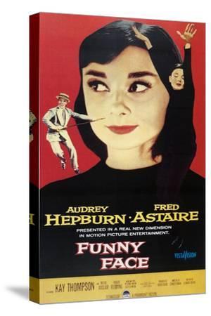 "Audrey Hepburn ""Funny Face"" 1957, Directed by Stanley Donen"