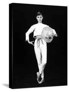 "Audrey Hepburn. ""Funny Face"" 1957, Directed by Stanley Donen"