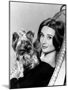 Audrey Hepburn in a Publicity Still Taken around Time of the Nun's Story, 1959