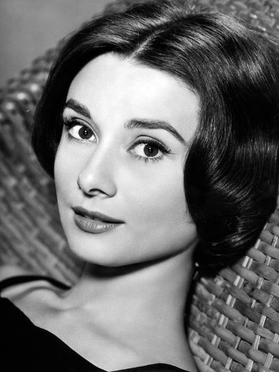 """Audrey Hepburn. """"Love In the Afternoon"""" 1957, Directed by Billy Wilder--Photographic Print"""
