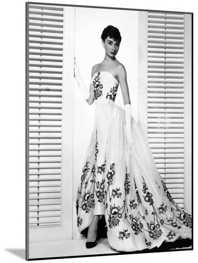 "Audrey Hepburn. ""Sabrina Fair"" 1954, ""Sabrina"" Directed by Billy Wilder. Custome by Edith Head--Mounted Photo"