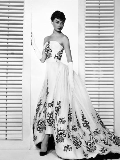 "Audrey Hepburn. ""Sabrina Fair"" 1954, ""Sabrina"" Directed by Billy Wilder. Custome by Edith Head--Photographic Print"