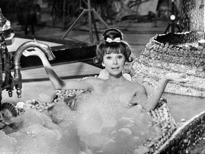"Audrey Hepburn. ""Together In Paris"" 1964, ""Paris-when It Sizzles"" Directed by Richard Quine--Photographic Print"