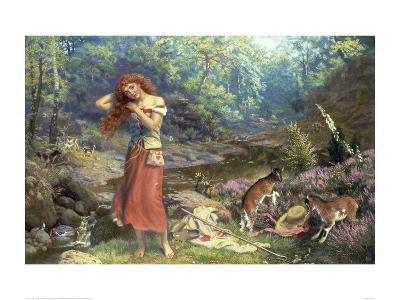 Audrey's Toilet, from As You Like It-Arthur Hughes-Giclee Print