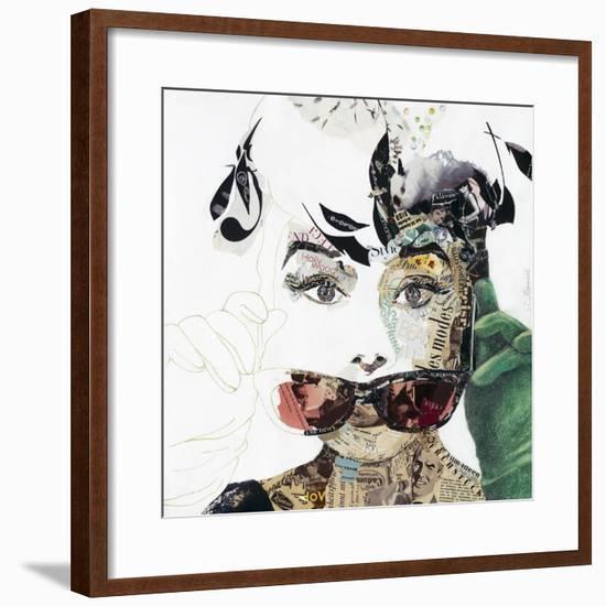 Audrey-Ines Kouidis-Framed Giclee Print