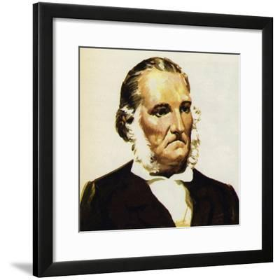 Audubon Brought Together His Bird Paintings in the Birds of America--Framed Giclee Print