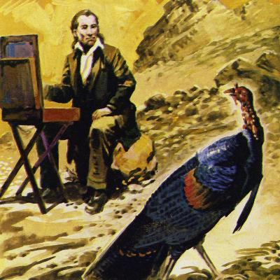 Audubon Devoted His Life to Painting the Birds of America--Giclee Print