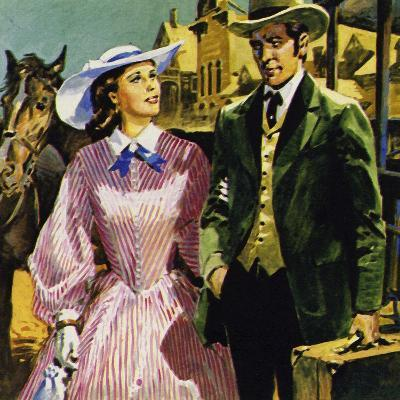 Audubon Moved to America Where He Fell in Love with Lucy Bakewell and Married--Giclee Print