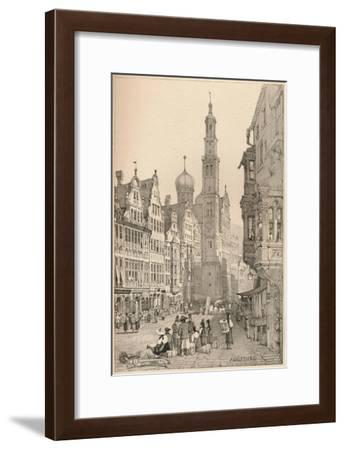 'Augsburg', c1820 (1915)-Samuel Prout-Framed Giclee Print
