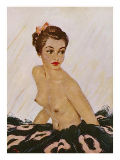 August, 1951-David Wright-Giclee Print