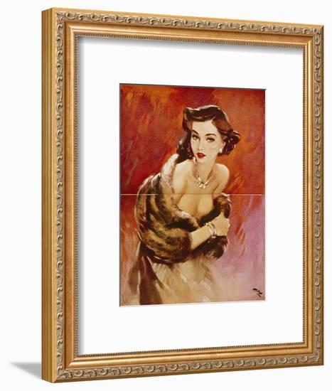 August, 1953-David Wright-Framed Giclee Print