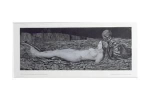 One Corpse, from the Cycle 'Death and the Maiden' by August Bromse
