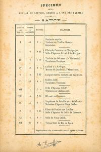 Sauce by August Escoffier