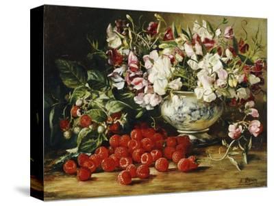 Raspberries and Sweet Pea