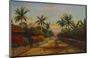 Camino Con Palmeras by August Lohr