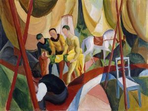 Circus. 1913 by August Macke