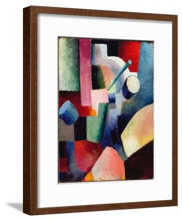 Colored Composition of Forms, 1914