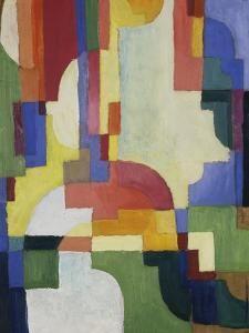Colourful Forms I, 1913 by August Macke
