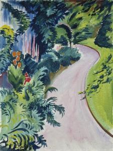Garden Path, 1912 by August Macke