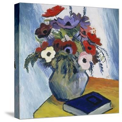 Still-Life with Anemones and Blue Book, 1911